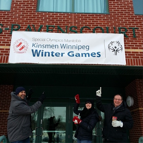 Winnipeg Kinsmen Special Olympics Winter Games