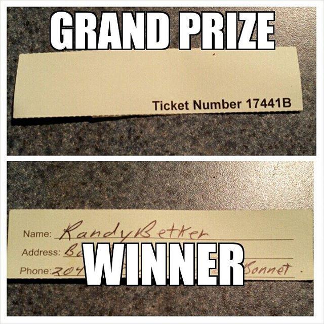 Kin Kar 2016 Grand Prize Draw