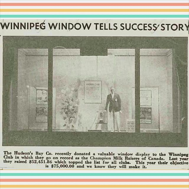 Winnipeg Kinsmen Throwback to 1943