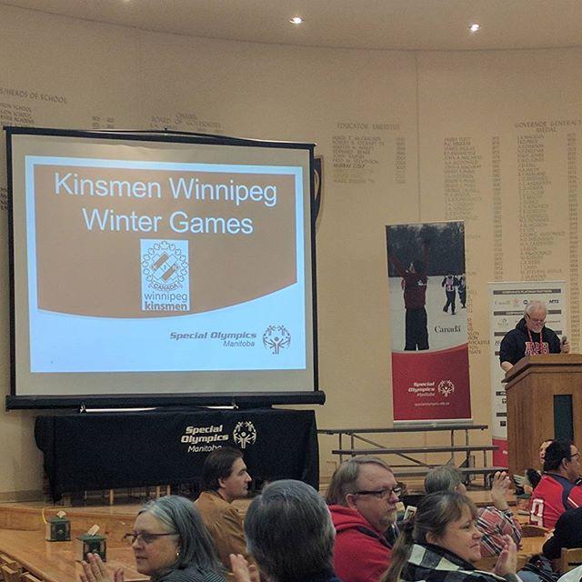 Special Olympics Manitoba Kinsmen Winter Games