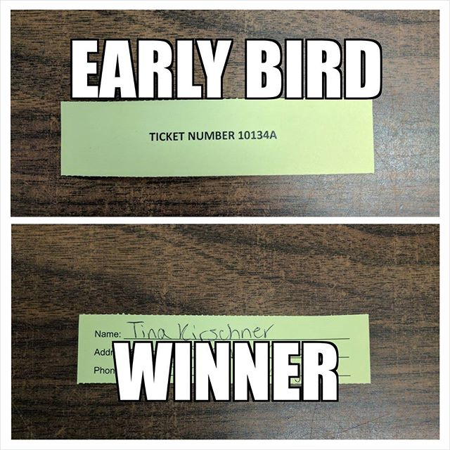Kin Kar $500 Early Bird Draw