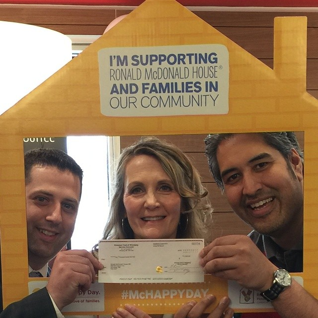 $2,000 for RMHC on #McHappyDay