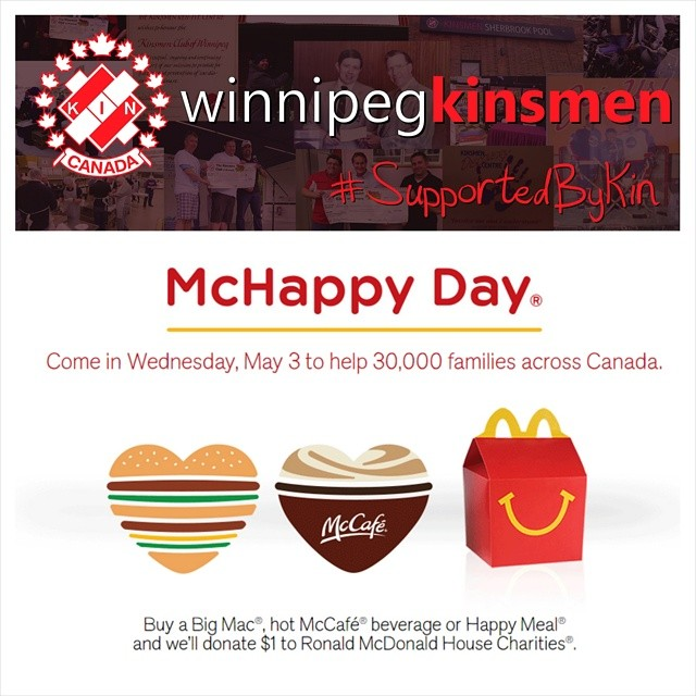 Support McHappy Day and RMHC!