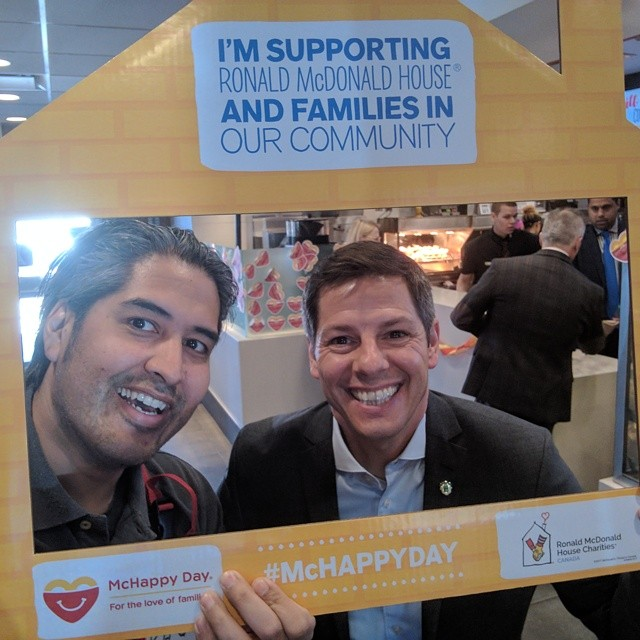 Mayor Brian Bowman on #McHappyDay