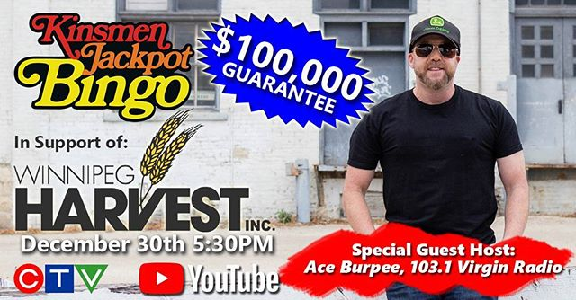 Ace Burpee is our December 30th Guest Host!